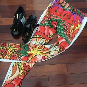 ADIDAS Women's Rita Ora Dragon Print Pants Size S